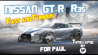 "Nissan GT-R r35 ""Fast and Furious verison"" Virtual Tuning By RP.Design"