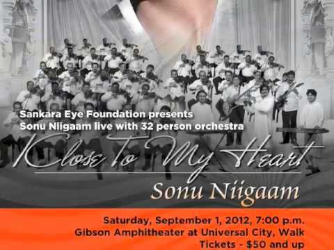 Sonu Nigam -  Is Pal (Aaja Nachle) Sankara Eye Foundation