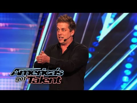 Mike Super: Mystifier Introduces Audience to Supernatural Spirit - America's Got Talent 2014