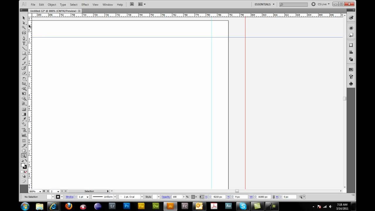 Tri fold brochure setup in adobe illustrator youtube for 8 5x11 brochure template