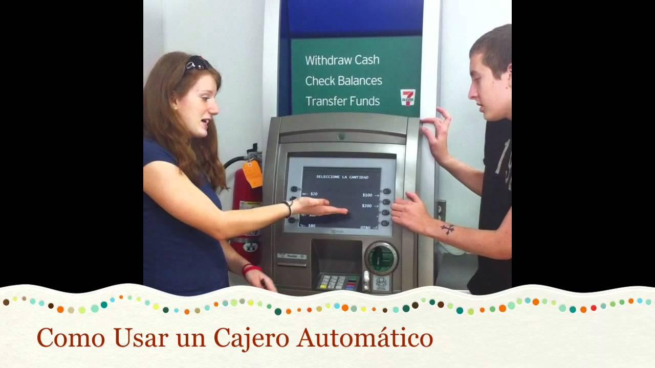 Como manejar un cajero automatico como manejar un cajero for Como se abre un cajero automatico