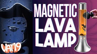 Lava Lamp made with Magnetic Liquid