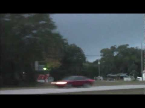 4 Minutes before the Edgewater Florida Tornado Touches Down in December 10th, 2012