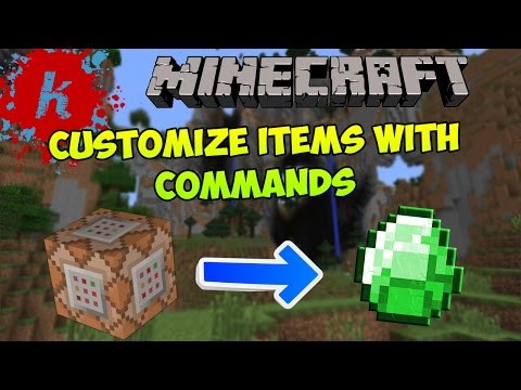 Minecraft | Tutorial - Use /give command to get items with custom Names/Lore/Enchantments | [1.7]