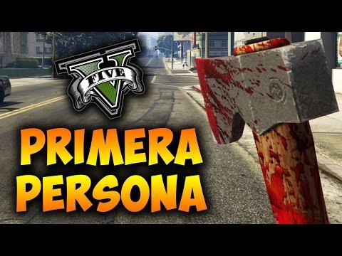 GTA V Online PS4 - Modo 1º Persona con Coches, Hacha, Motos, Armas, Caza, Submarino y Más - GTA 5