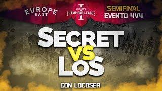 LA MAS INCREIBLE SEMIFINAL DE LA ECL! LOS vs SECRET