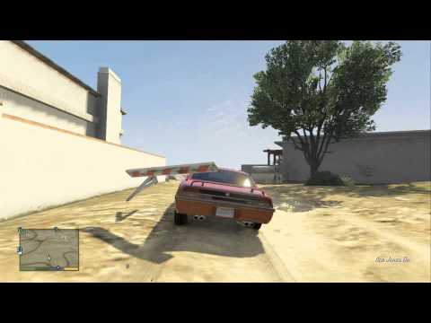 GTA V Dukes of Hazzard stunt jump