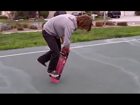 34 SUPER WEIRD SKATEBOARDING TRICKS