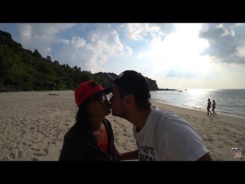 Наш тернистый путь с тайкой Нитт на Freedom beach. Dji Spark, Таиланд, Пхукет