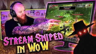 I GOT STREAM SNIPED IN WoW?! FT. DRLUPO (Classic WoW)