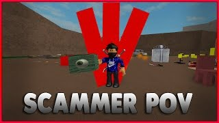 Catching Scammers #4 (ROBLOX Lumber Tycoon 2) Scammers POV