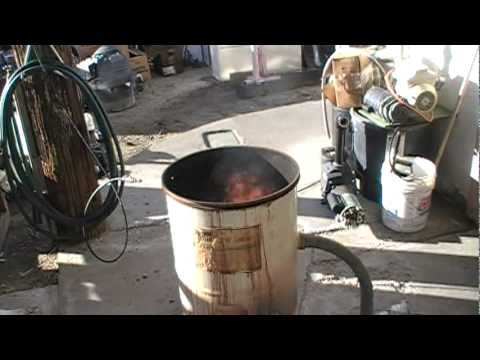 Building a Waste Oil Heater