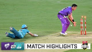 Heartbreak for the Heat as Hobart triumph in a BBL classic | KFC BBL|10