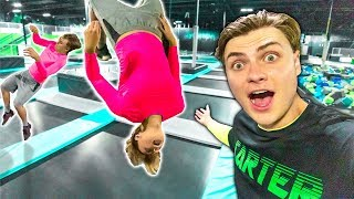 BEST TRAMPOLINE BACKFLIP WINS $10,000