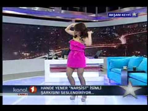 Hande Yener @ Akşam Keyfi - Narsist (Performance)