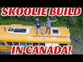 Living in The Skoolie in Alberta, Canada