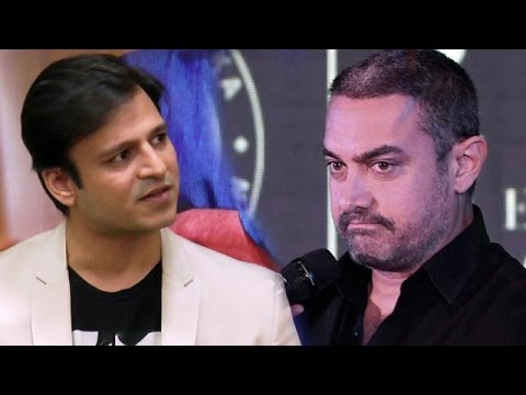 Vivek Oberoi SHOCKING REACTION To Aamir Khan's LEAVE INDIA Comment