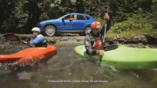 Mazda CX-5 Challenges the Chilliwack River