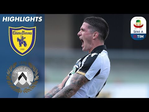 Chievo 0-2 Udinese | Two late goals secure Udinese victory at winless Chievo | Serie A