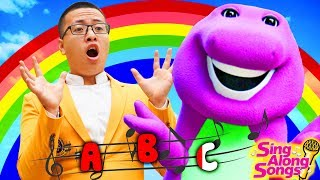 Barney and Friends Sing Along with Baby ABC Song Alphabet Full Episodes 2 Simple Songs for Kids