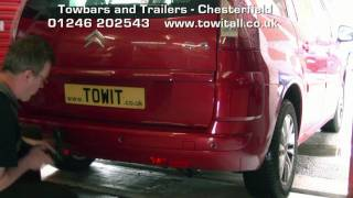 Towbar Video - C4 Grand Picasso Westfalia Detachable