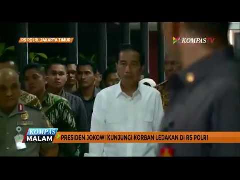 Jokowi Kunjungi Korban Ledakan Bom Kampung Melayu