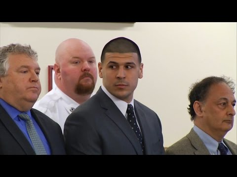 Aaron Hernandez Guilty of 1st-Degree Murder, Sentenced to Life in Prison (VIDEO)