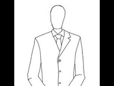 Slender Man Easy Drawing 1)how to Draw Slenderman
