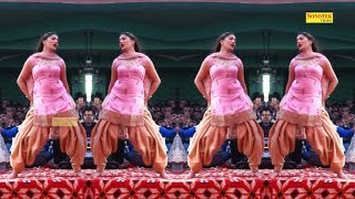 सपना चौधरी का डांस देखने वालो की भीड़ बेकाबू वेटिंग में भी हाउस फुल   New Dance 2018   Trimurti