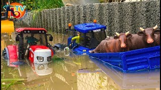 BRUDER Farm Traktor McCORMICK RC New Holland - Rescue mission!