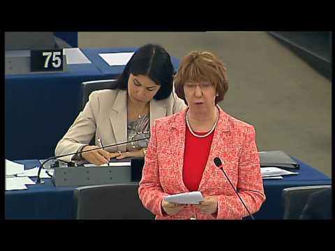Speech by Catherine Ashton on the 2013 review of the organisation and functioning of the EEAS