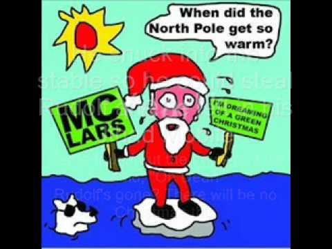 mc lars gary the green nosed reindeer with lyrics