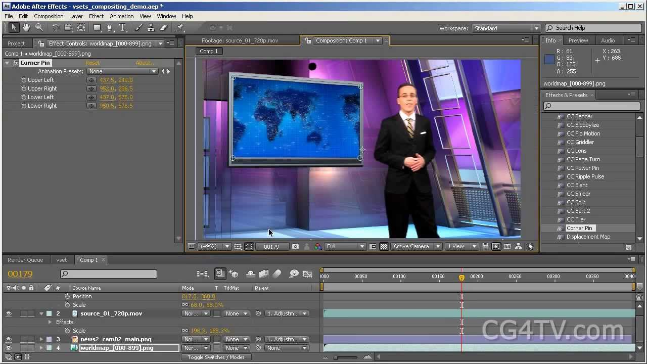 ... to use virtual sets and backgrounds with Adobe After Effects - YouTube