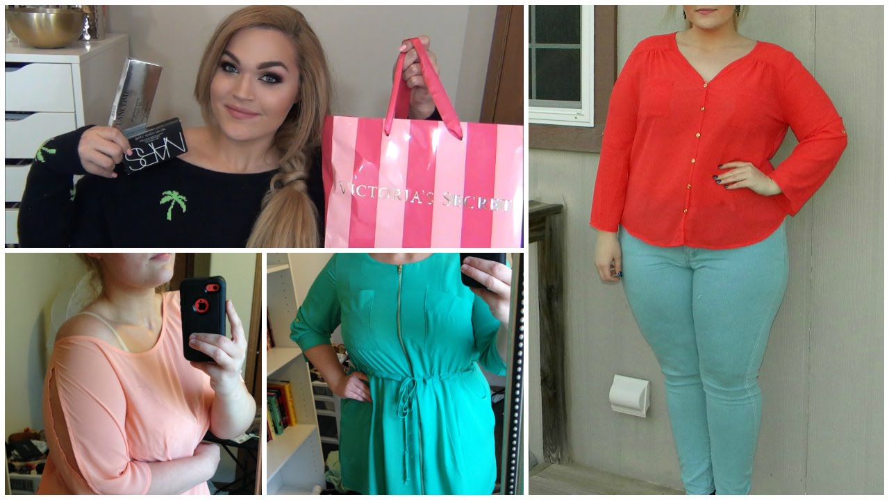 Plus Size Fashion Haul 2015 Plus Size Mall Haul Spring