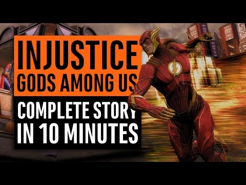 Injustice   Complete Story in 10 minutes   Ready for Injustice 2