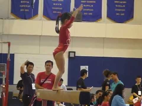 Bangkok Gymnastics Invitational Championships – Balance Beam Event
