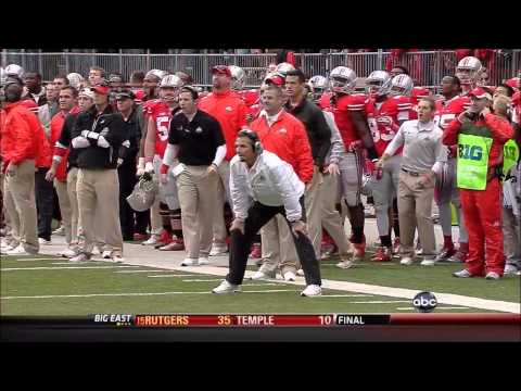 2012 Ohio State Purdue Final Minute of Regulation and Overtime