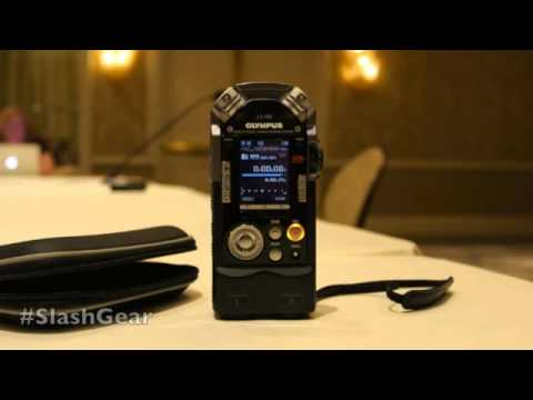 Olympus LS-100 Sound Recorder demo 2