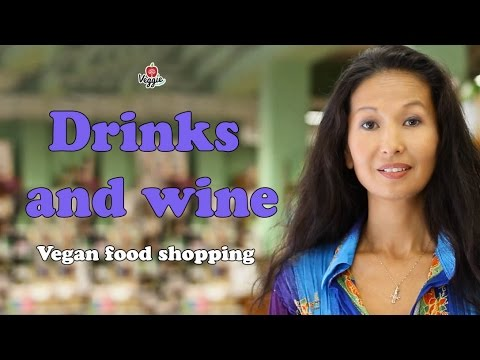 Drinks and wine - Vegan food shopping