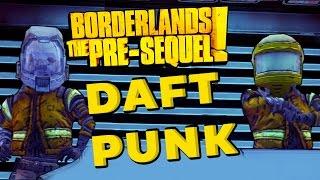 Borderlands the Pre Sequel Daft Punk Easter Egg