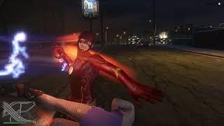 GTA 5 - The Flash Mod powers ,  zezanje