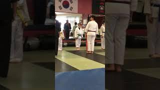 Buhisan's USA Martial Arts Color Belt promotions