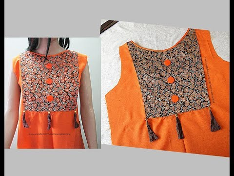 Eye Catching  Chudidar suit Designing  Office / Daily Wear - Simple & Easy Making ( Step by Step)