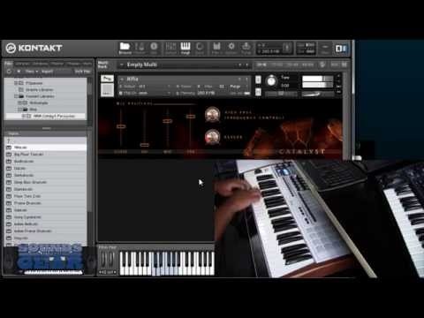 Aria CATALYST Epic Cinematic Percussion Sample Library for Kontakt