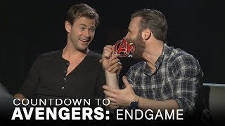 Chris Evans Jokes About Chris Hemsworth's 'Sexiest Man Alive' Title | Extended