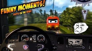 Euro Truck Simulator 2 Multiplayer   Funny Moments & Crash Compilation   #44