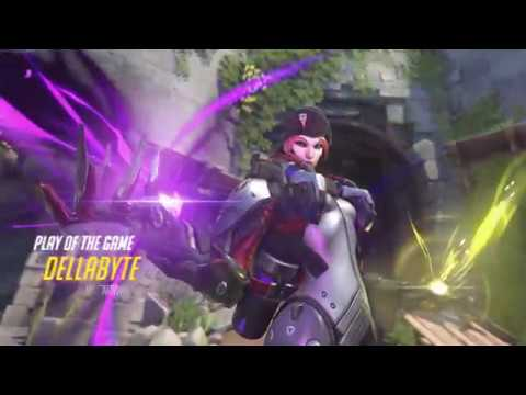 Overatch Moira Play of the Game Competitive 6/18/18
