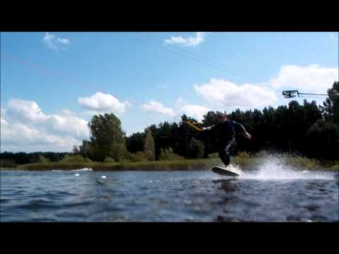 Body Varial Andy Weinstein Wake Surf Board Cable Spot Velten Berlin Germany