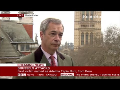 Nigel Farage Im being attacked for telling the truth