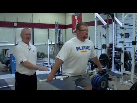 Olympic Weightlifting Video Training Exercises Tips by Roger Nielsen Image 1